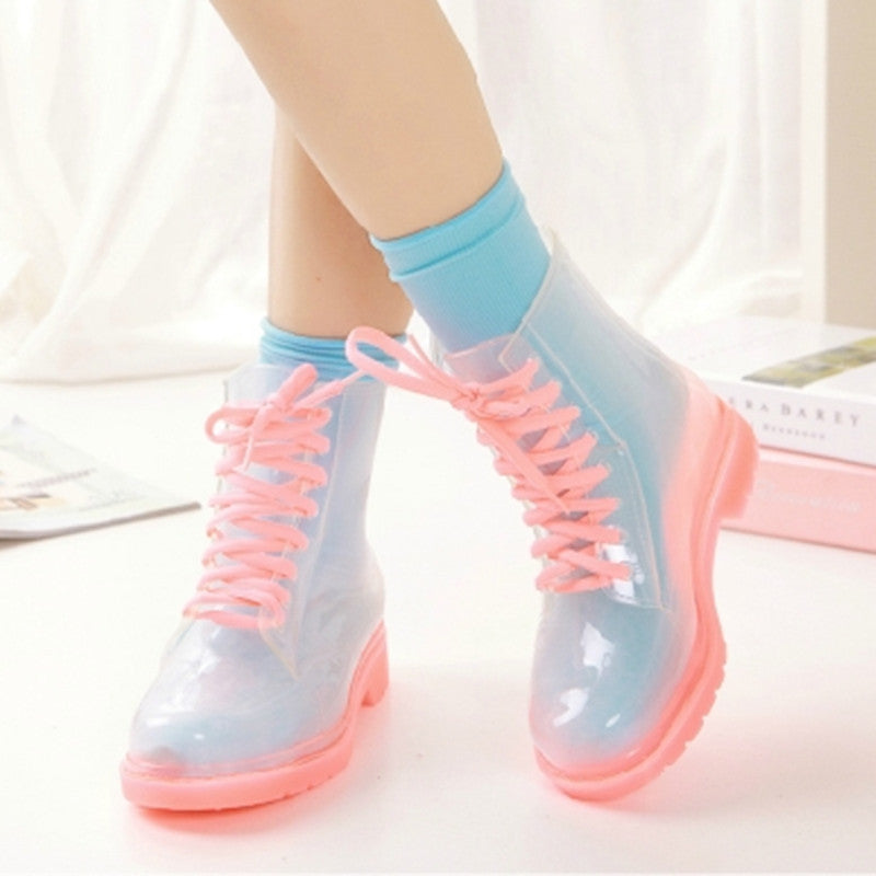 Jelly Martin Boots 6 Colors YV2112