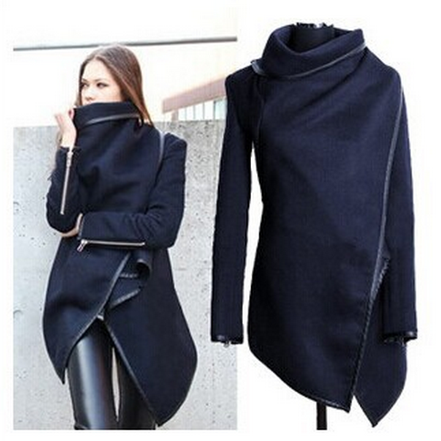 Women's Irregular coat YV16071