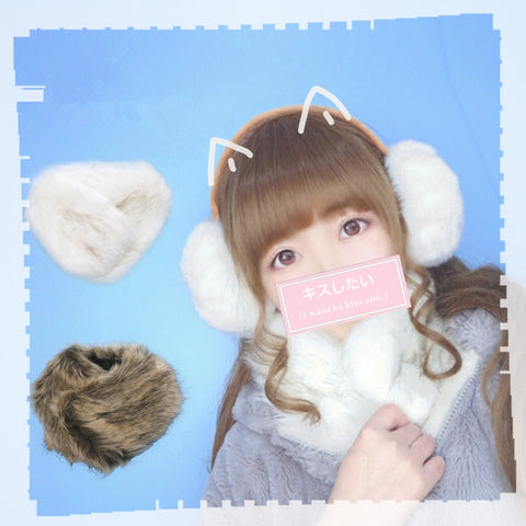Japanese cute scarf yv40503