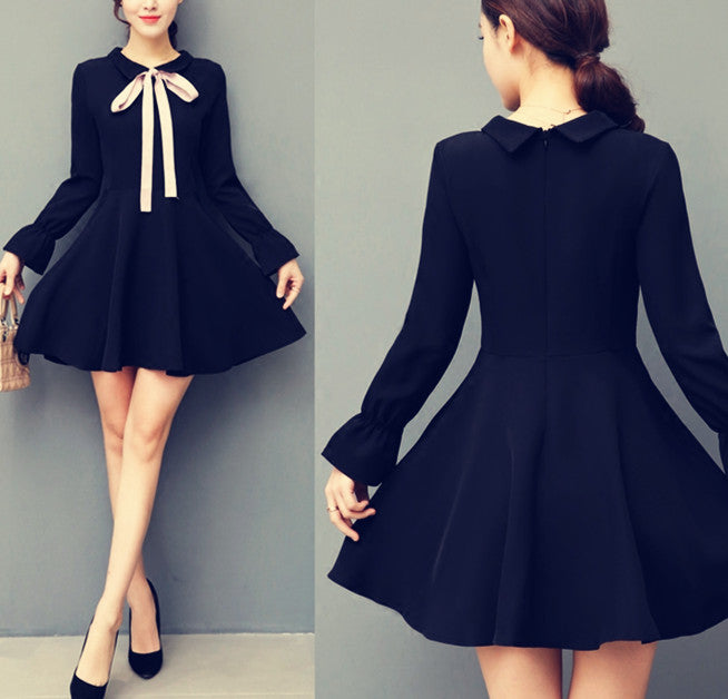 Vintage little black dress YV8034