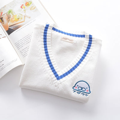 Japanese cute embroidery sweater YV90103