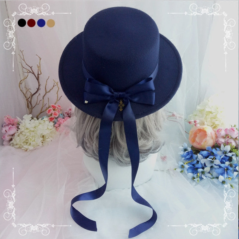 Lolita retro top hat YV40896