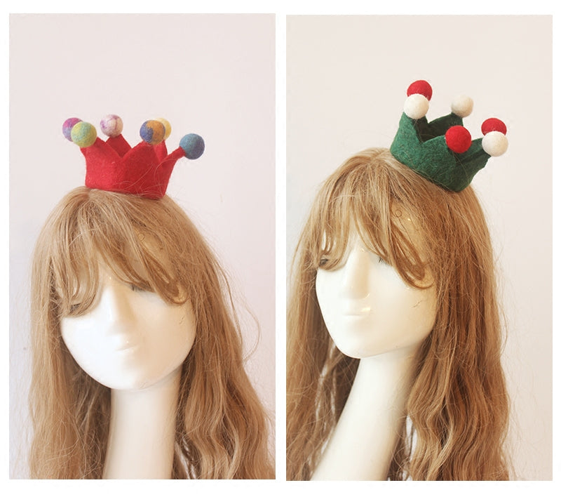 Youvimi handmade candy color small crown YV20130