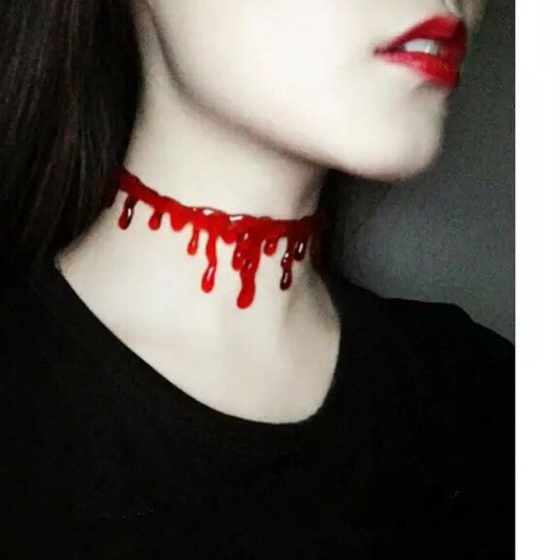 Red Blood Drop Necklace YV2126