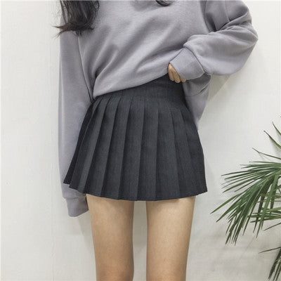 Chic wind pleated skirt YV462