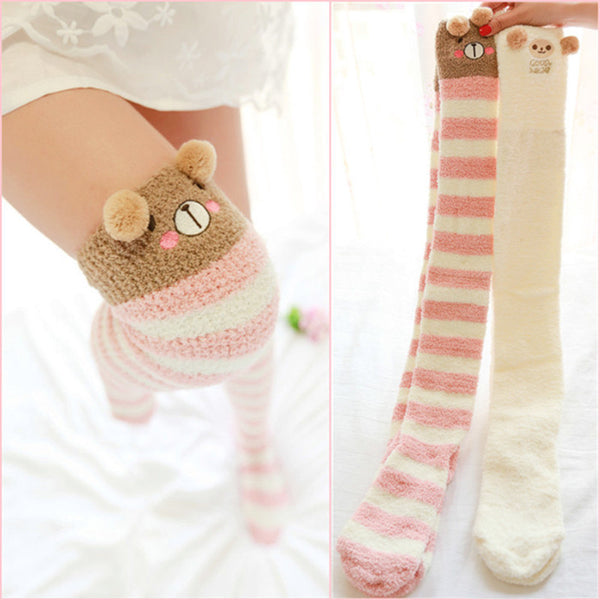 Harajuku fashion cute cartoon stockings YV2242