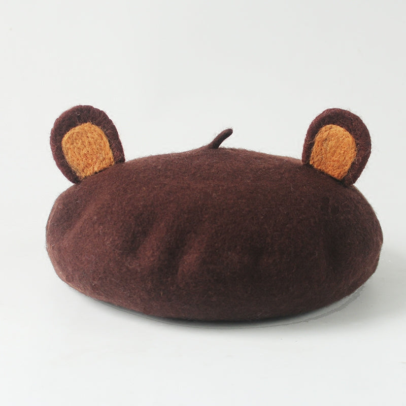 Cute Bear Ear Beret YV2406