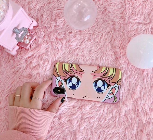 Cute Sailor Moon creative  phone shell YV2489