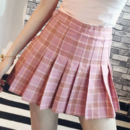 Sweet Tall Waist Tennis Skirt YV40147