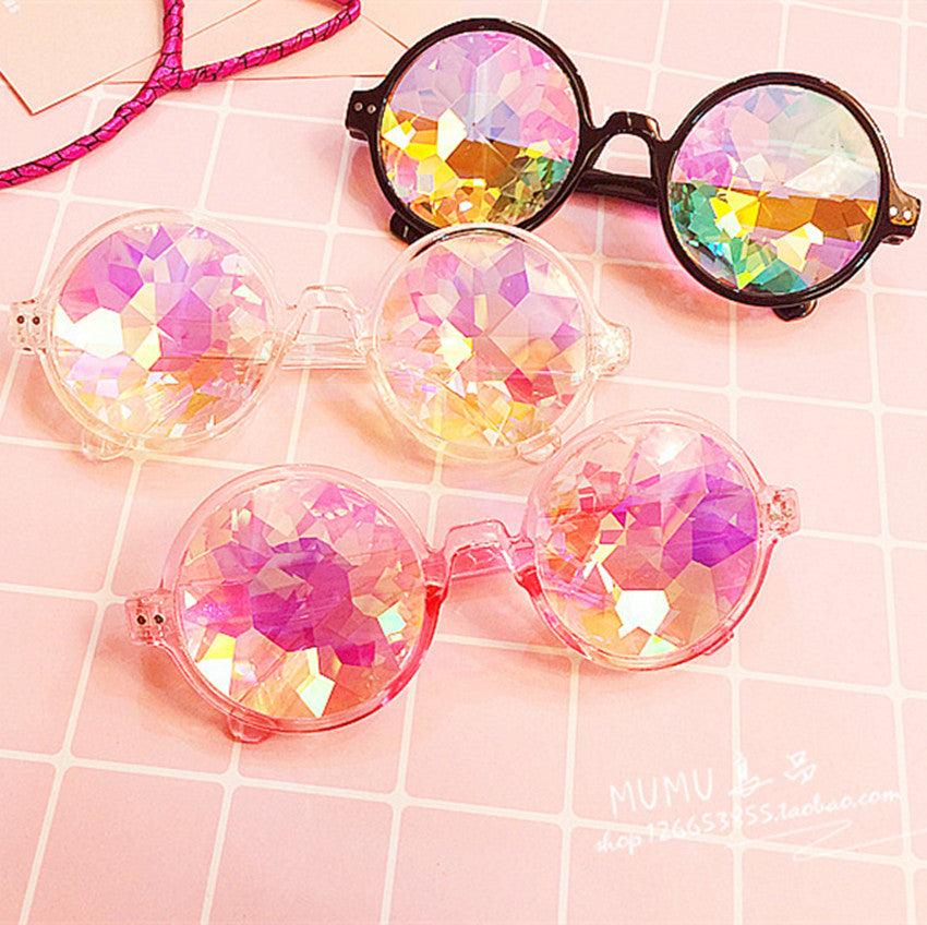 Diamond Mosaic Pixel Sunglasses YV2358