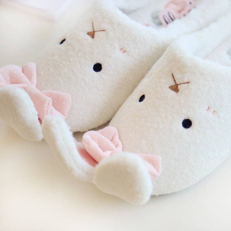 Long ear rabbit sweet home slippers YV2306