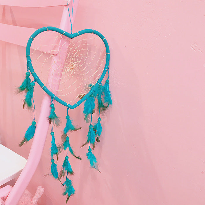 Japanese heart net shooting props pendant YV40393