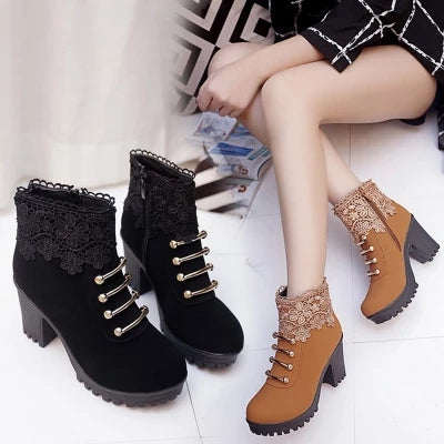 Warming High Heel Boots  YV5088