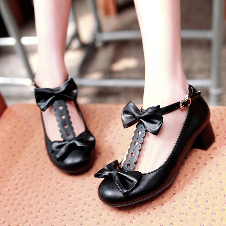 Cute Kawaii Bow Shoes YV248