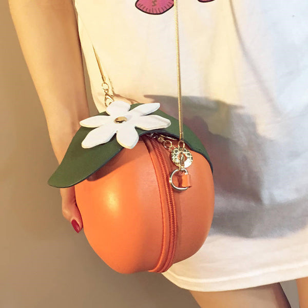 Flower orange bag YV41066