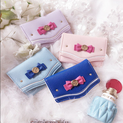 Bow mini coin wallet YV442
