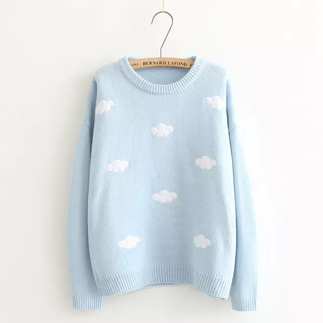 Cloud knitwear sweater YV5091