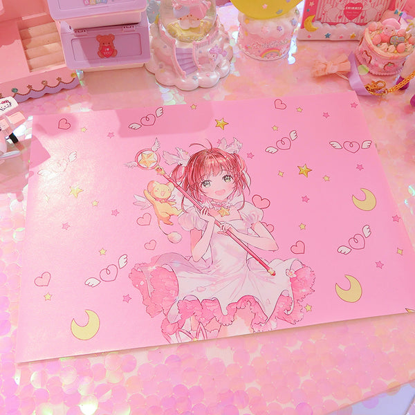 Card Captor Sakura tablecloth YV41058