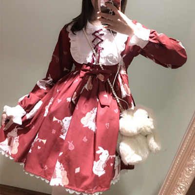 Lovely lolita rabbit dress YV460