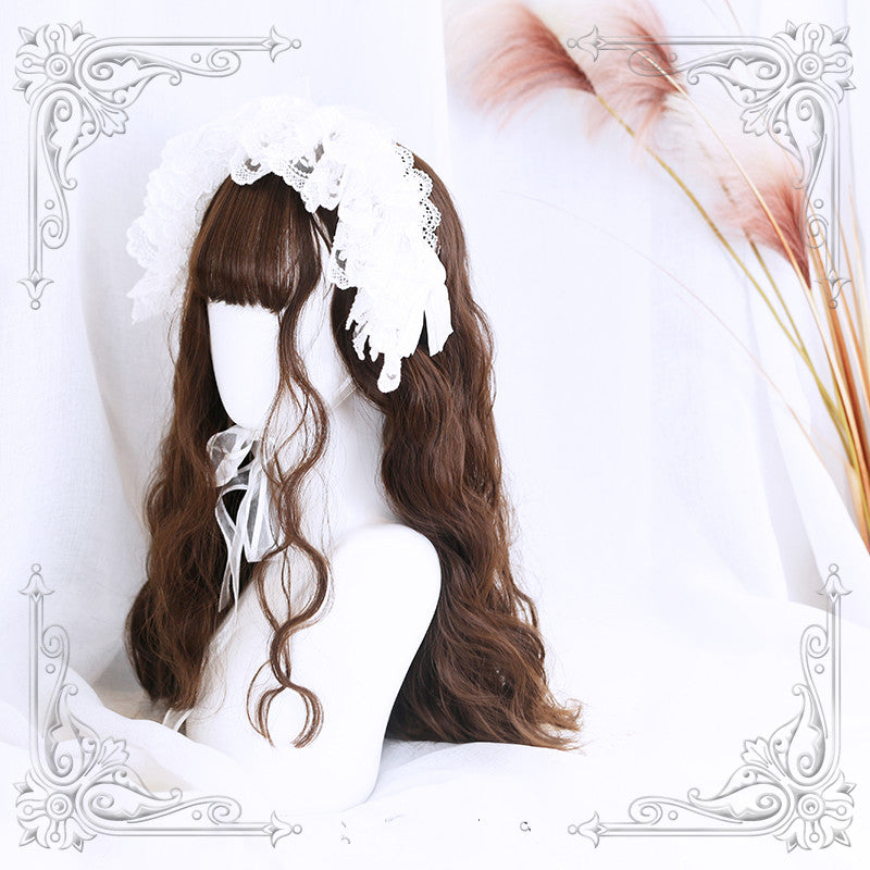 Lolita egg roll long wig YV40299
