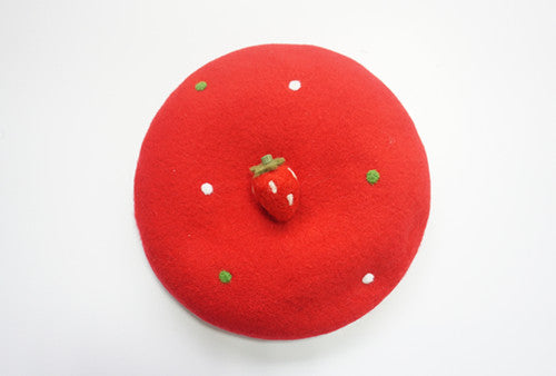 Lolita strawberry beret yv40615