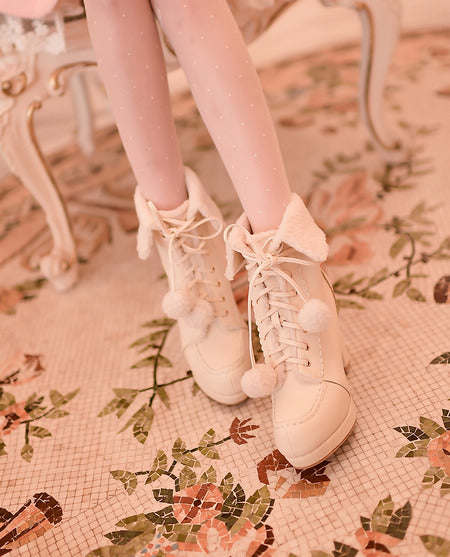lolita high-heeled boots  YV5081