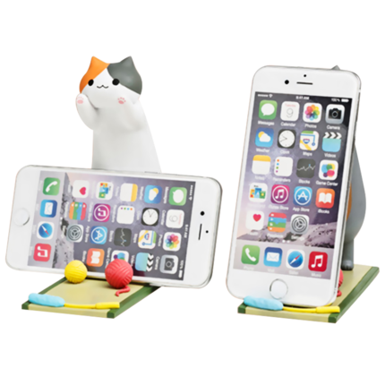 Cute cat phone stand YV8025