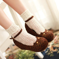 Japanese Lolita cat shoes YV40389
