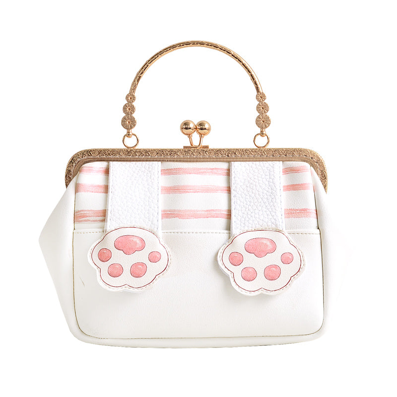 Kitty Paw HandbagCross Body Bag YV8036