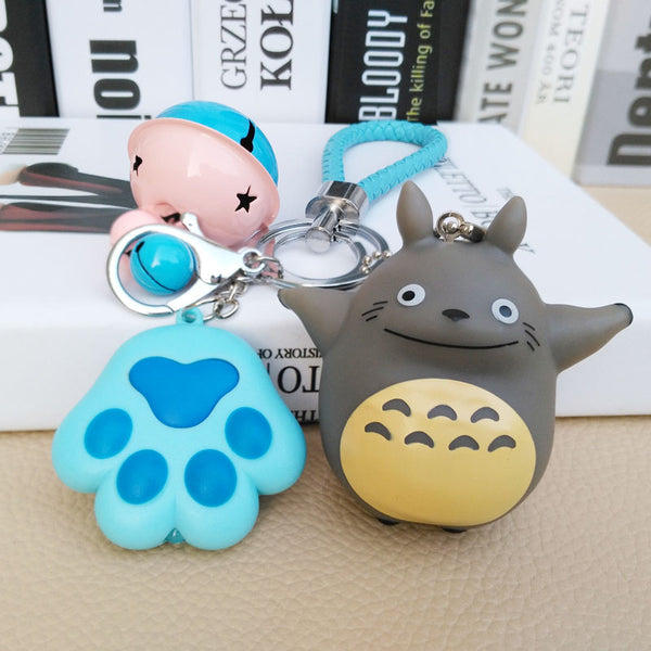 Totoro glow sound key chain YV40253
