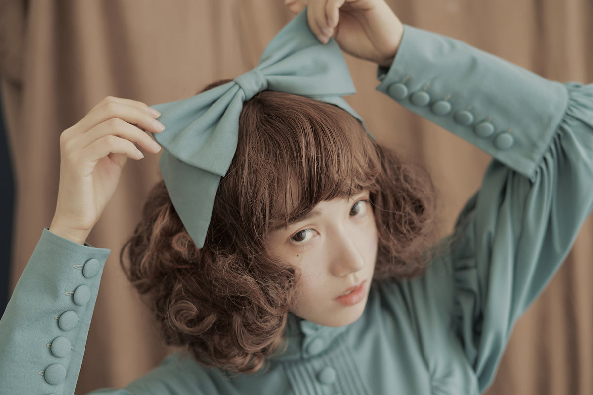 Big bowknot lolita hair band  YV8039