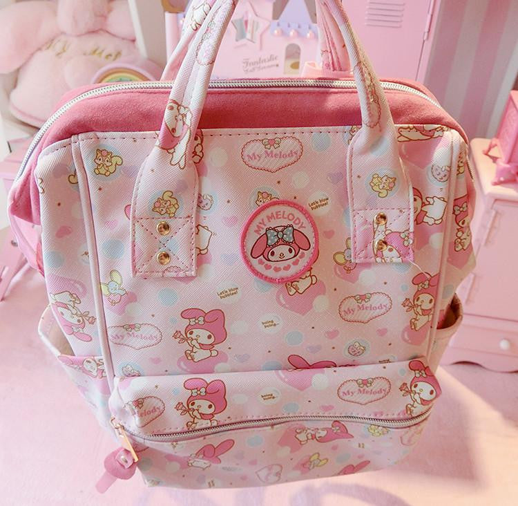 Pink melody students backpack  YV16079