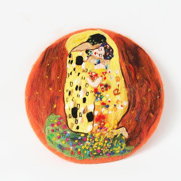 The Kiss oil painting beret YV42421