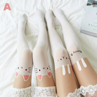 Japanese fake high tube pantyhose 2 pieces YV2361
