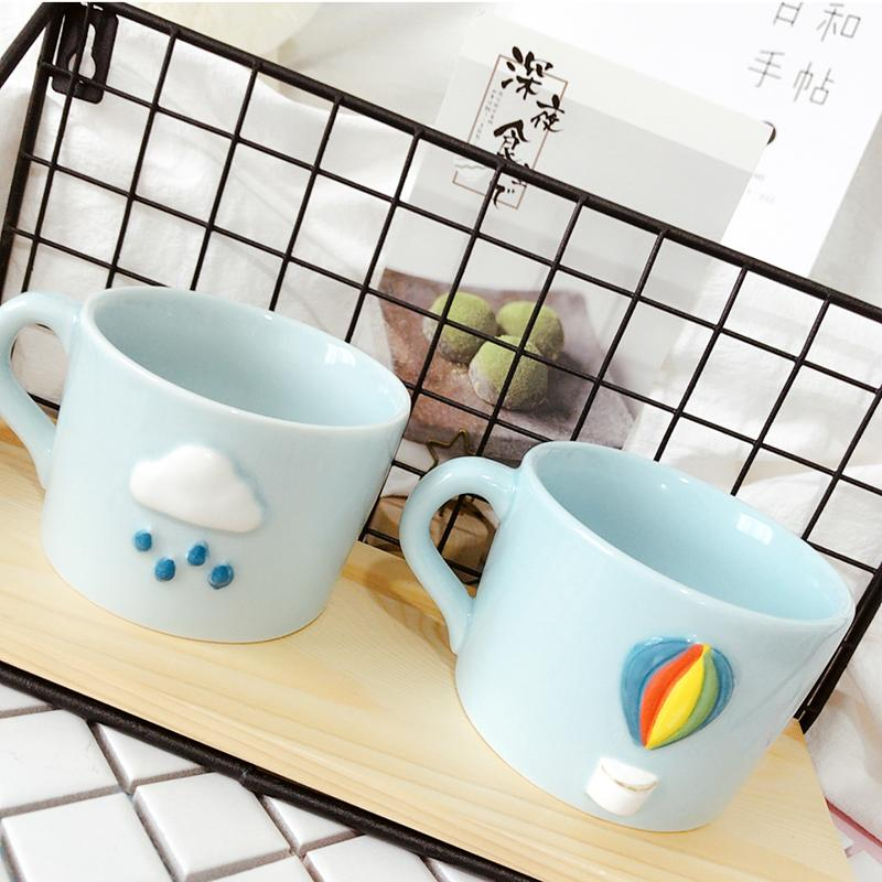 Cutekawaii rainbow  water  cup YV5066