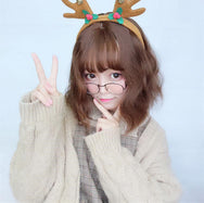 Cute wavy corn hot wig YV40423