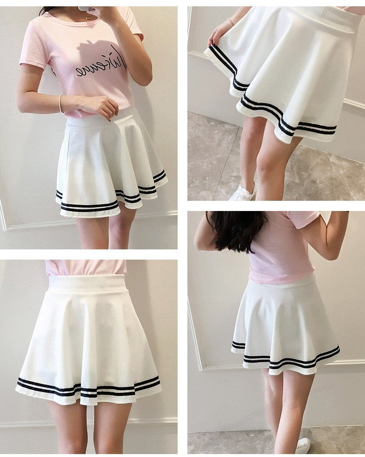Cute Kawaii Students skirt YV16017