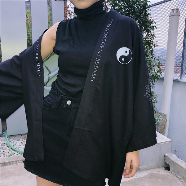 Black gossip sun protection jacket yv42077