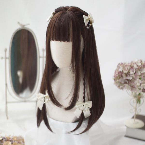 Lolita long straight wig YV40876