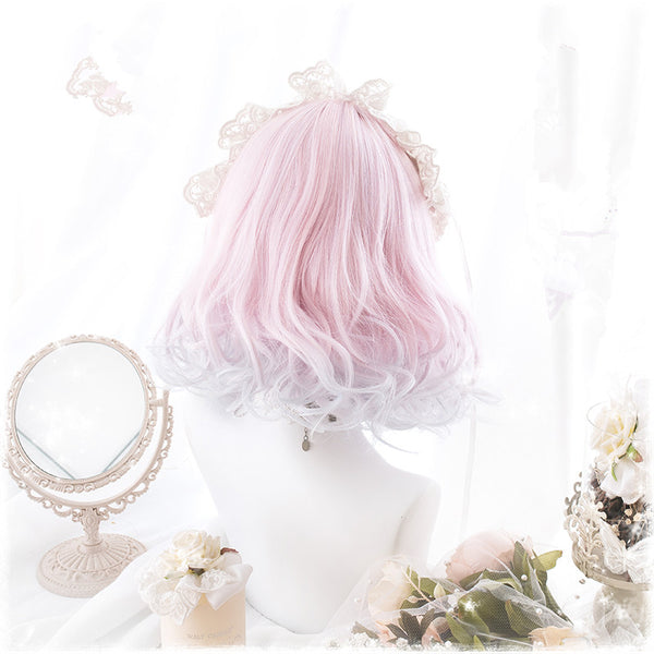 Lolita gradient powder wig YV40931