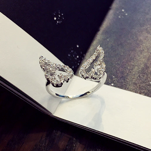 Silver/Golden Cardcaptor Sakura Angel Wings Ring YV5019