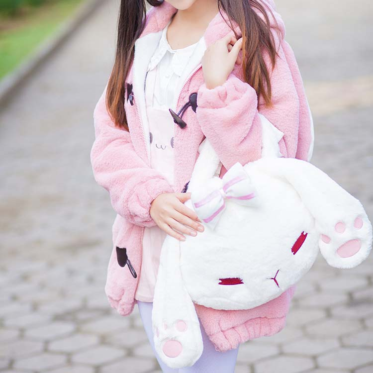 Cute Rabbit Doll Bag Backpack YV8024