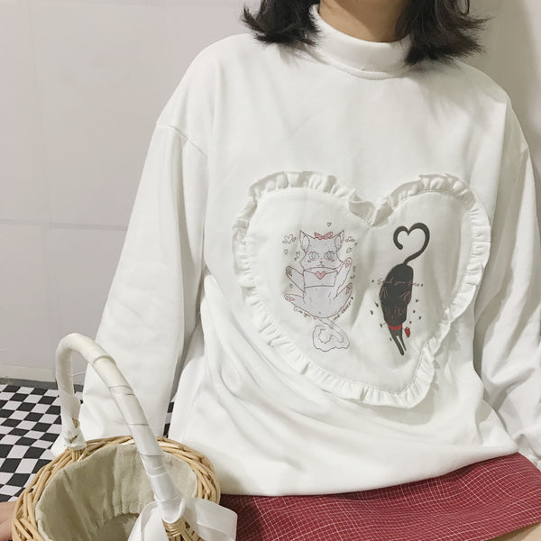 Cute cat Sweatshirt YV40988