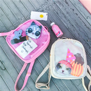Cute cat ear cat backpack YV42516