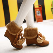 Lovely cos lolita thickened  short boots YV7055