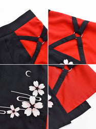 Japanese cherry blossom skirt YV40199