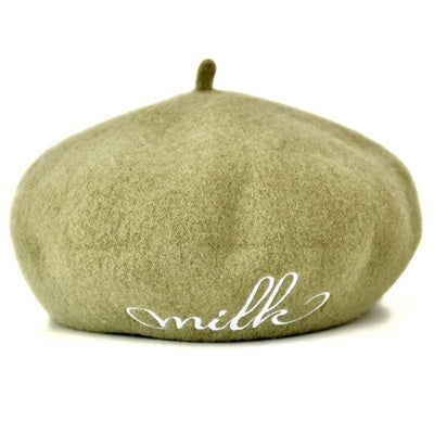 Chic wool beret hat YV409011