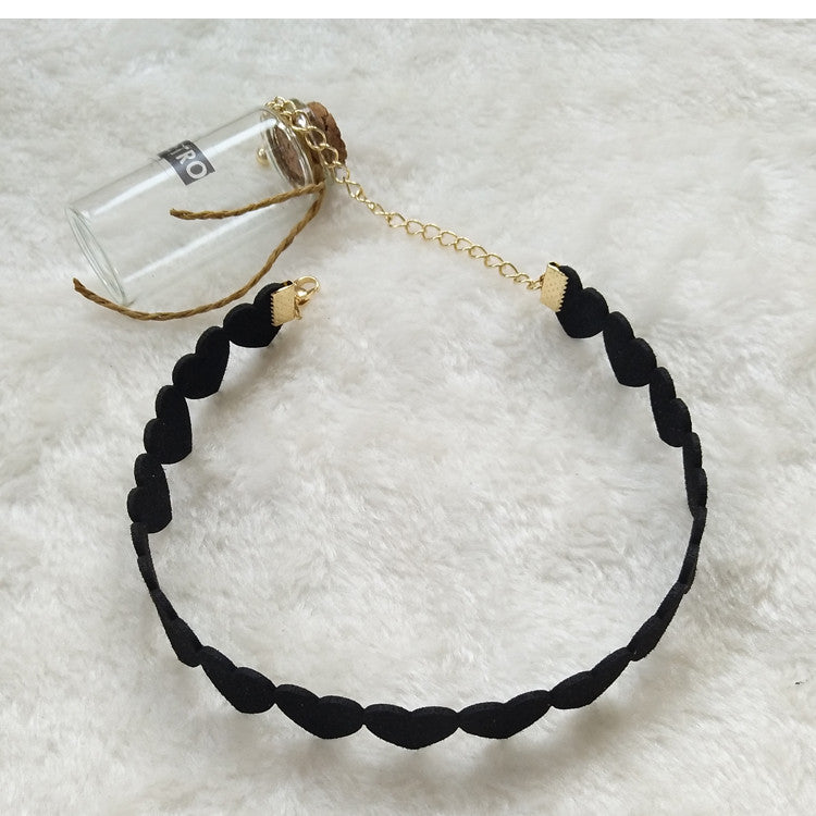 girl's heart Choker YV16006