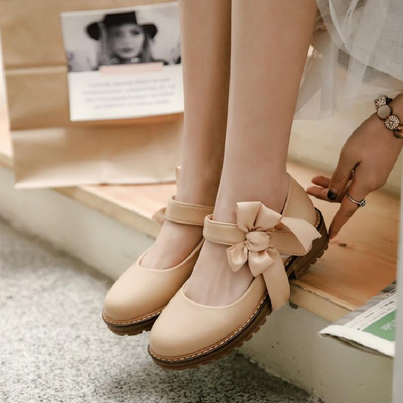 Cute bow shoes YV41008