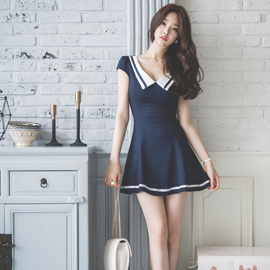 V-neck dress YV18008